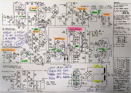 Marshall Jcm 2000 Dsl 50 Schematic Design Are - staff on